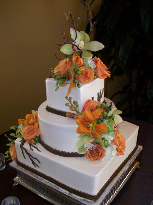 Affordable Wedding Cake Flowers and Supplies