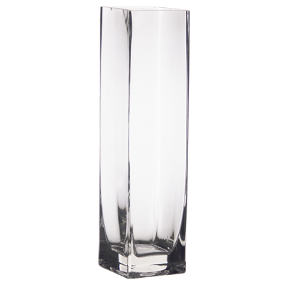 "18"" Tall Square Vase"