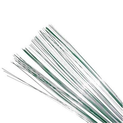 Green Floral Wire - 20 gauge (30 pieces)