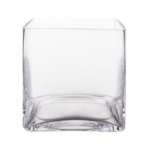 "Cylinder Glass Vase 6"" x 8"", 6 p/c - Cylinder Glass Vases by DFW"