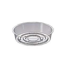 Fifty 6 Saucers, Clear Plastic Vase Liners