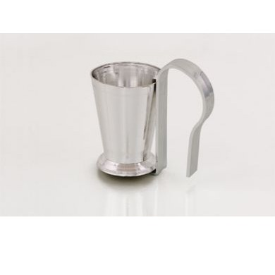 Mint Julep Cup with Pew Clip, One Case of 24 - Silver