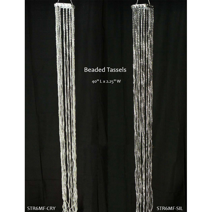 Beaded Tassels, Decorative Accents