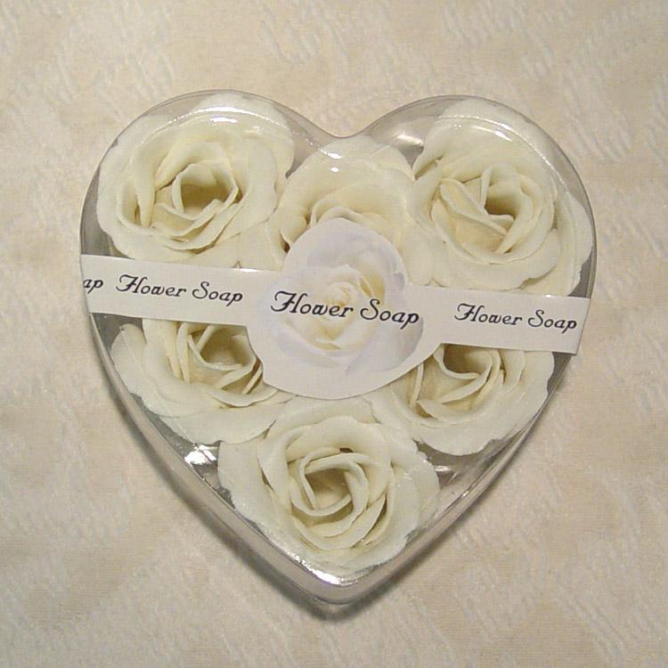 white rose flowers. White Rose Flower Soaps