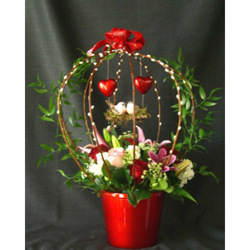 Item #: VA-020 - Valentine's Day Arrangement View Additional Floral