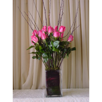 Pink Roses Vase - Compare Prices on Pink Roses Vase in the Flowers