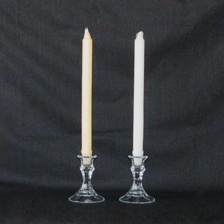 Formal Candles White & Ivory