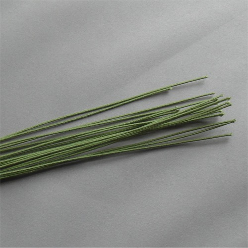 Florist's Green Cloth Stem Wire