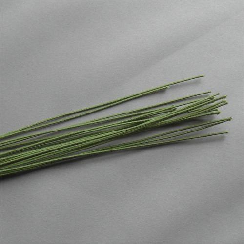 Florists Green Cloth Stem Wire