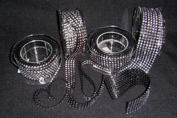 Black Diamond Ribbon in 4 sizes