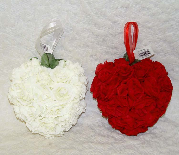 images of roses and hearts. 36 Rose Hanging Heart