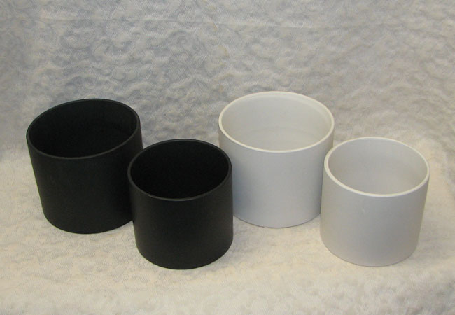 Matte Finish Ceramic Cylinders