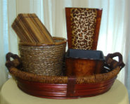 Wood and Baskets