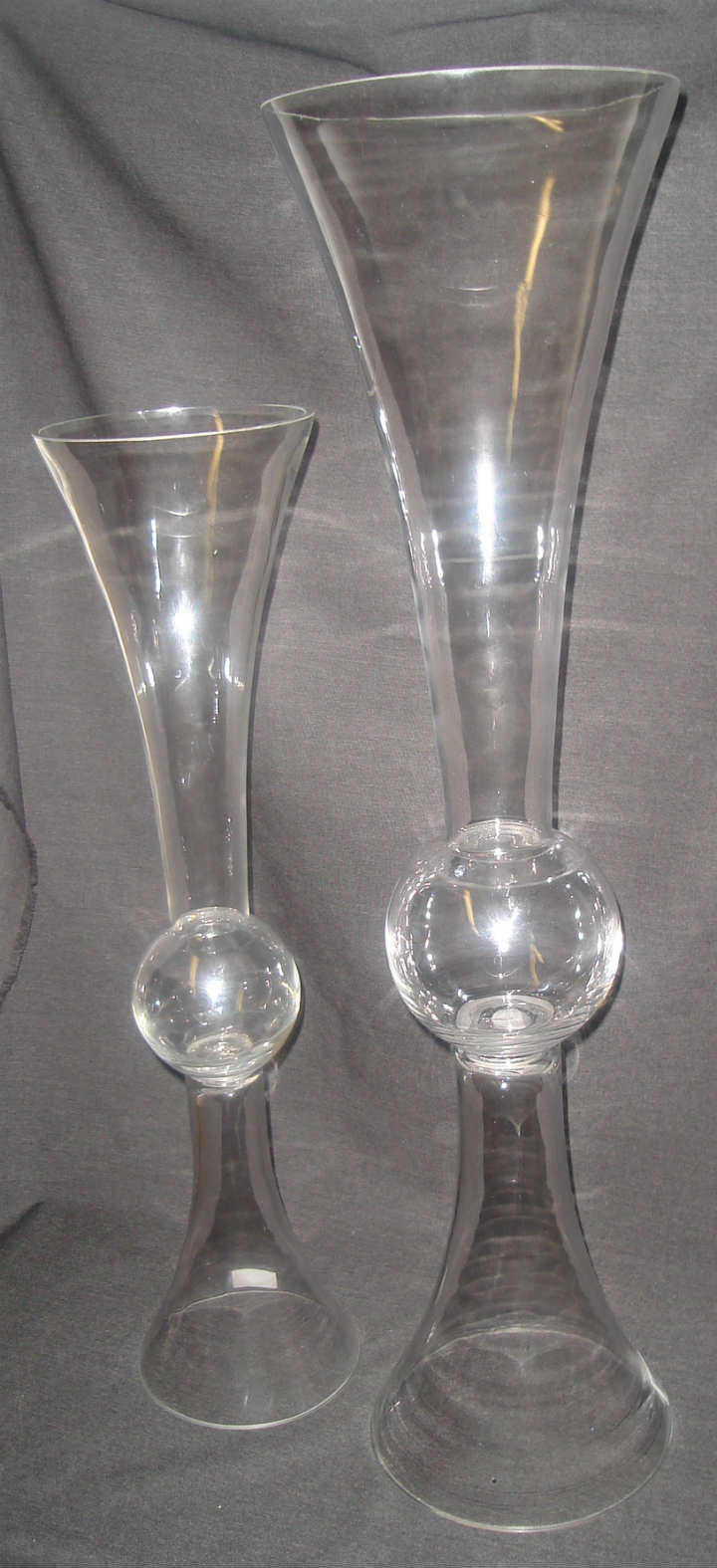 Trumpet tall vases sale